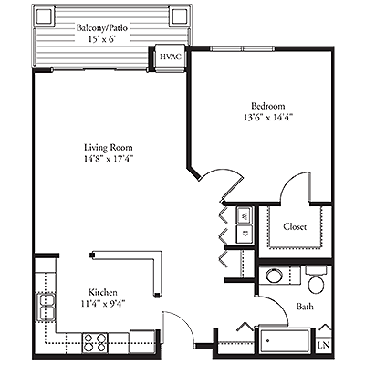 The Reading Floor Plan